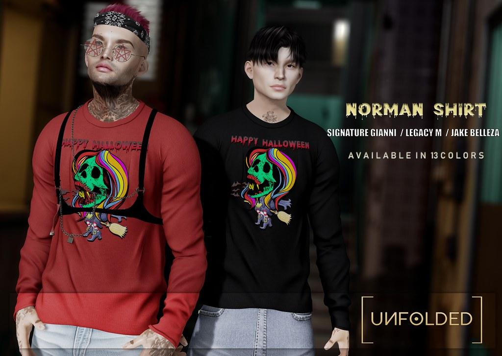 UNFOLDED X Norman Shirt