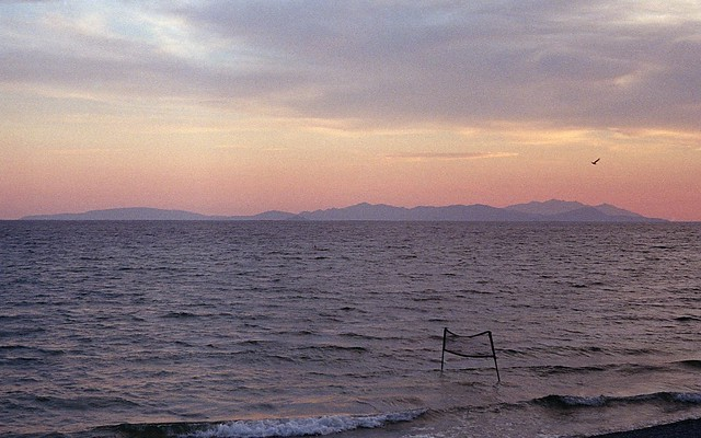 Tramonto sull'Isola d'Elba.