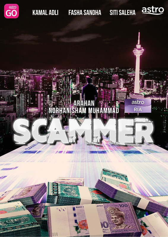 Poster Movie Scammer Trial 3
