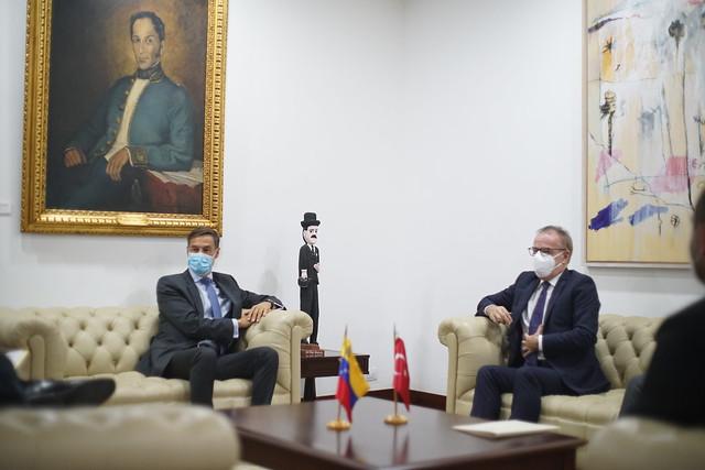Venezuela y Turquía fortalecen lazos de cooperación bilateral