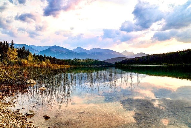 Jasper Alberta Lake