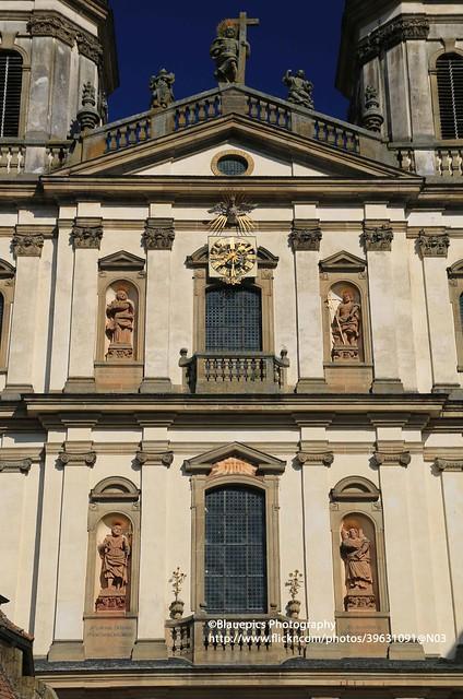 Schöntal, Schöntal abbey, facade