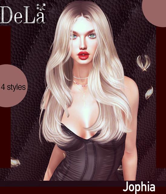 "=DeLa*= new hair ""Jophia"""