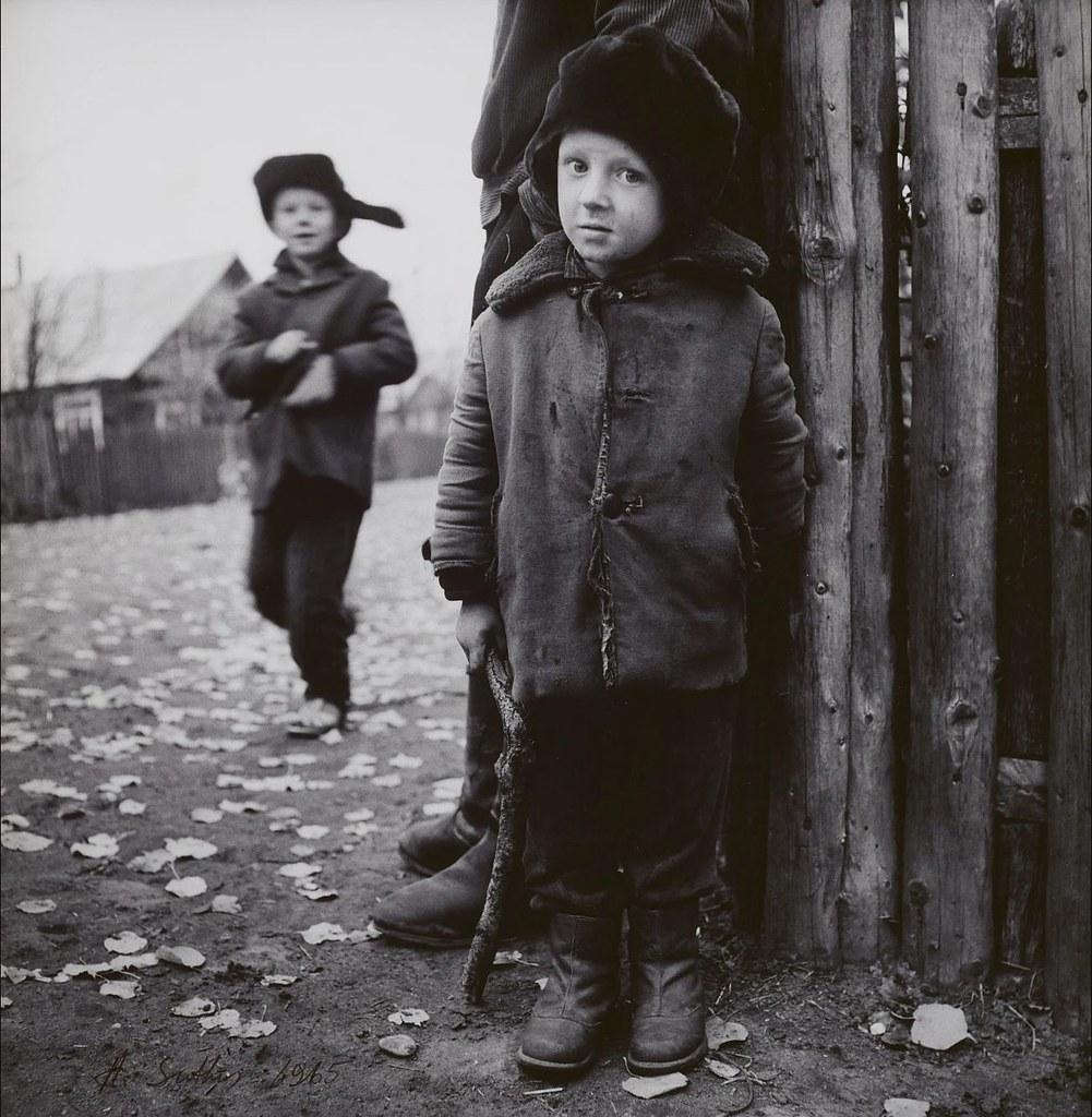 30. 1965. Деревенские дети