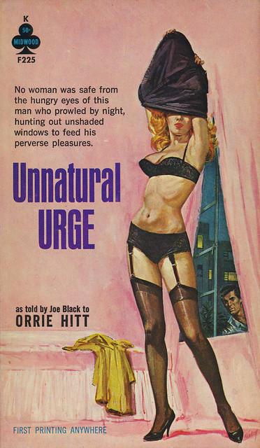Midwood Books F225 - Orrie Hitt - Unnatural Urge