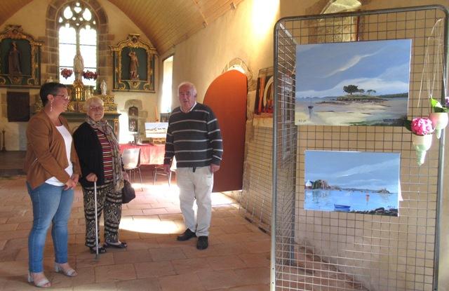 Ste Brigitte Visiteuses avec René Budet