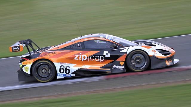#66 Enduro Motorsport McLaren 720s GT cup Snetterton