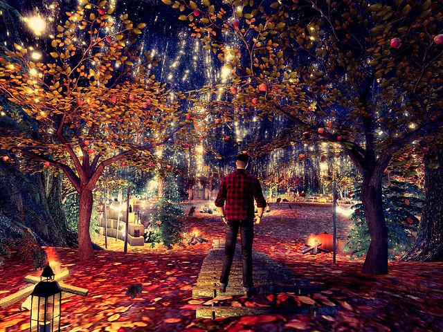 All Hallows at Moochie 2021 - The Autumn Moon Lights My Way