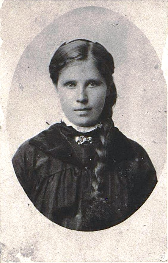 Катанова Екатерина Александровна, бахромщица. 1913-1914 гг.