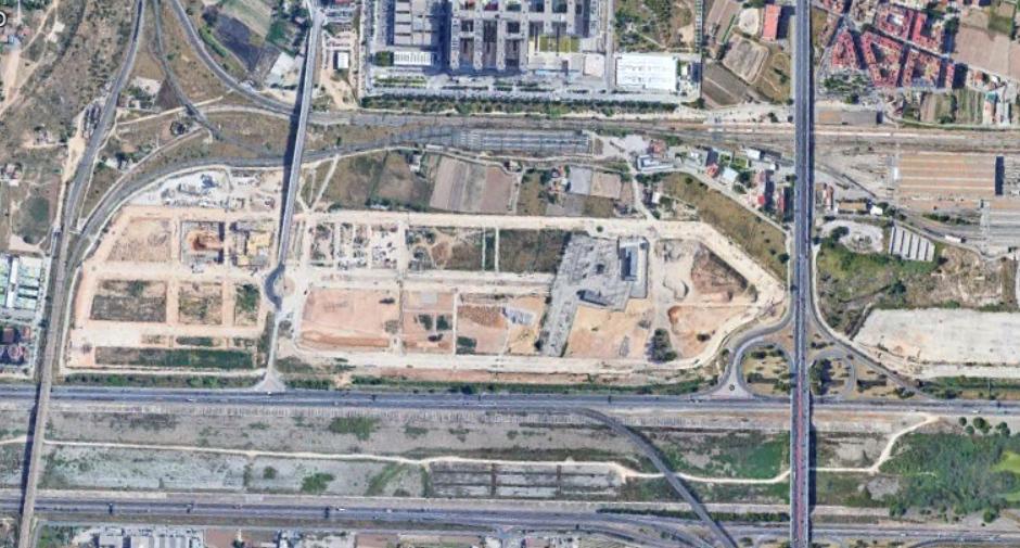 sur del hospital de la fe, valencia, políganos aún sin nombre, después, urbanismo, planeamiento, urbano, desastre, urbanístico, construcción, rotondas, carretera