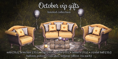 October group gifts