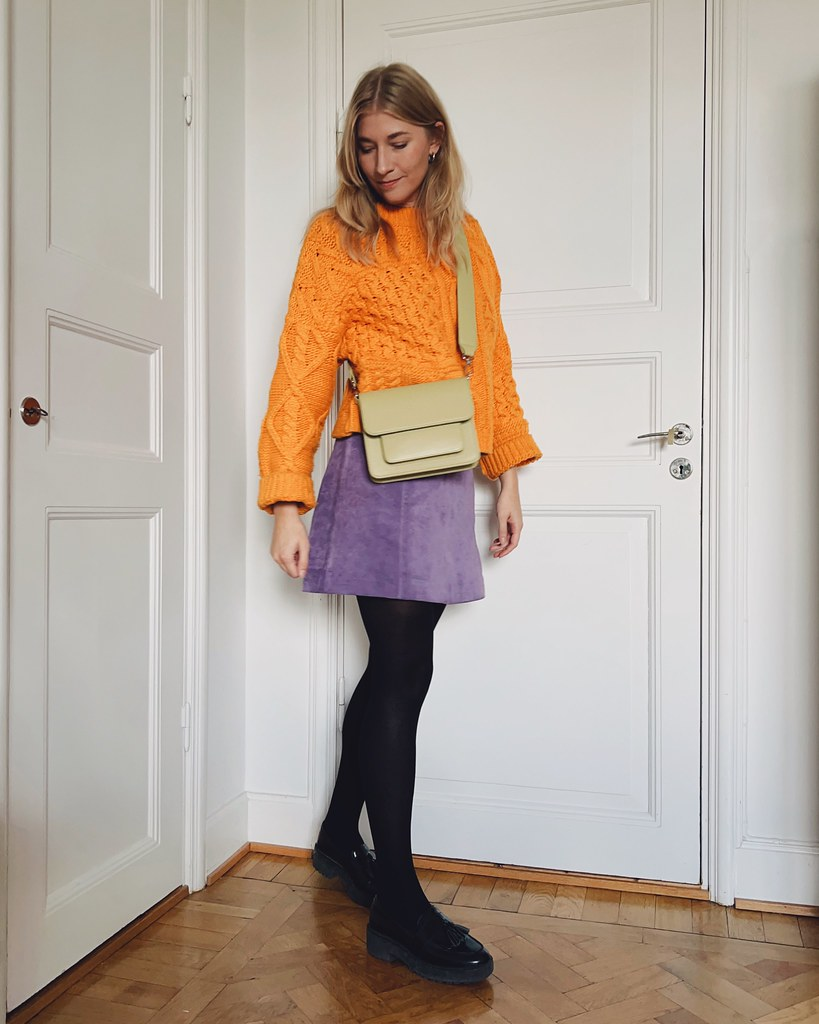 orange & lila