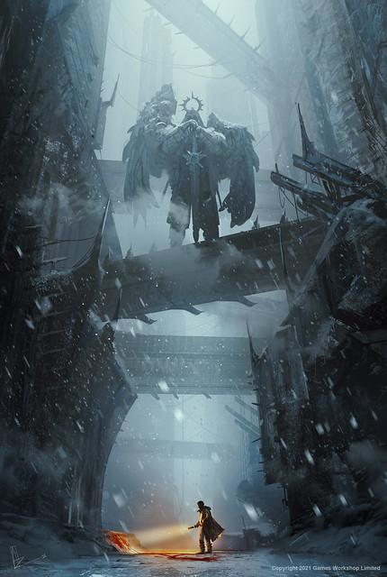 Марк Коллинз «Зловещее пиршество», рисунок обложки