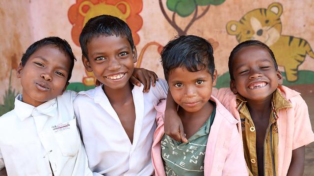India, students in Odisha