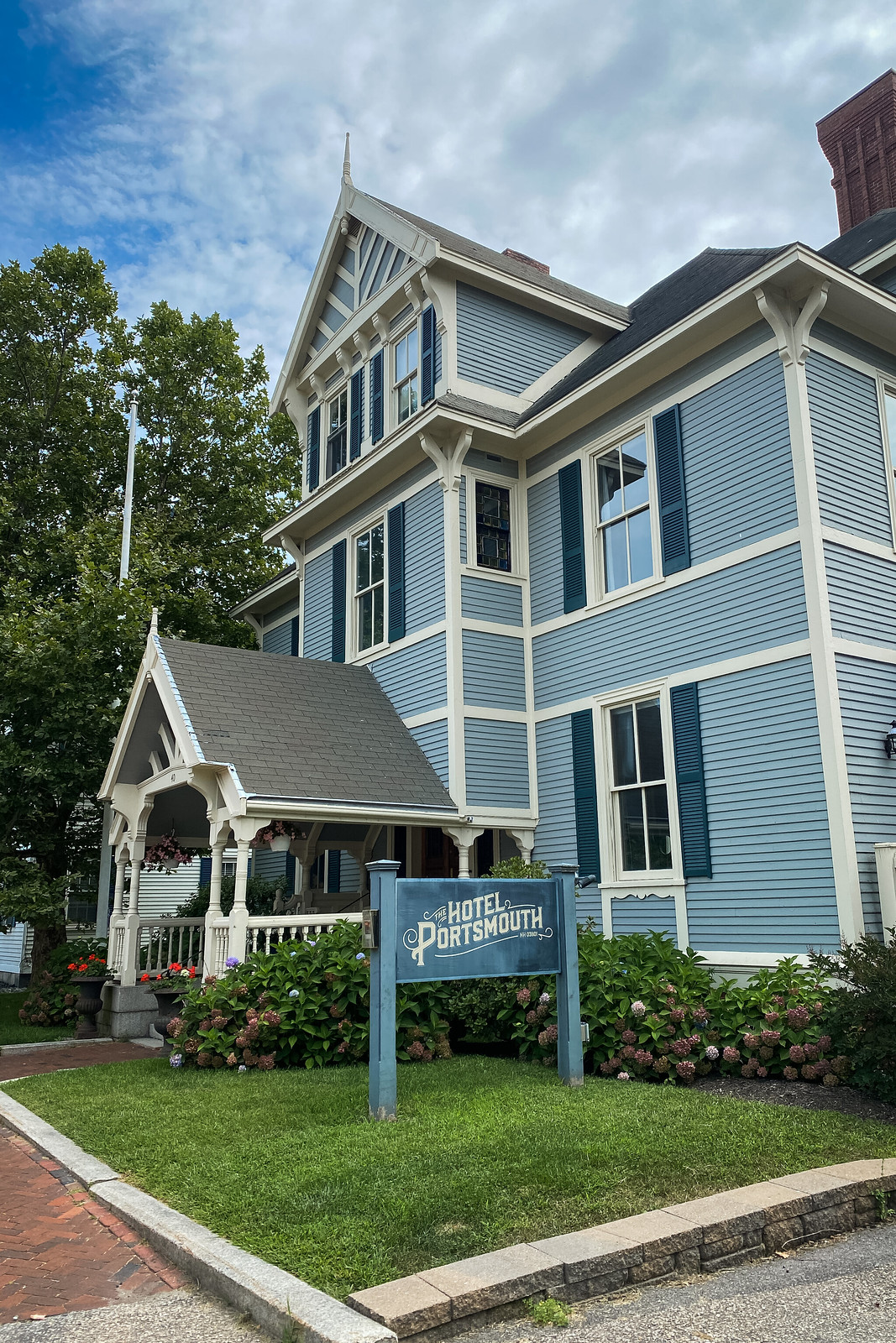 The Hotel Portsmouth | Where to stay in Portsmouth, NH | Portsmouth New Hampshire Travel Guide | Weekend in New England | Things to do in Portsmouth