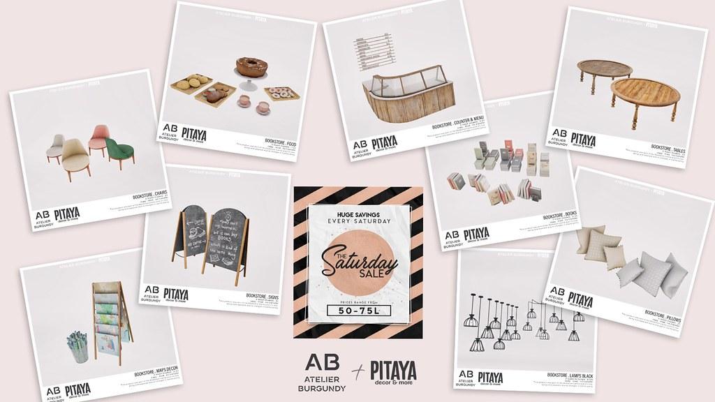 AB + Pitaya . Bookstore TSS