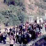 Viggiano (PZ), 1976, Festa della Madonna di Viggiano sul Sacro Monte.