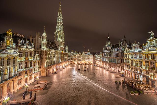 Grand Place. Brussels Belgium