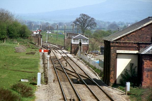 Woofferton Junction looking North in 1982
