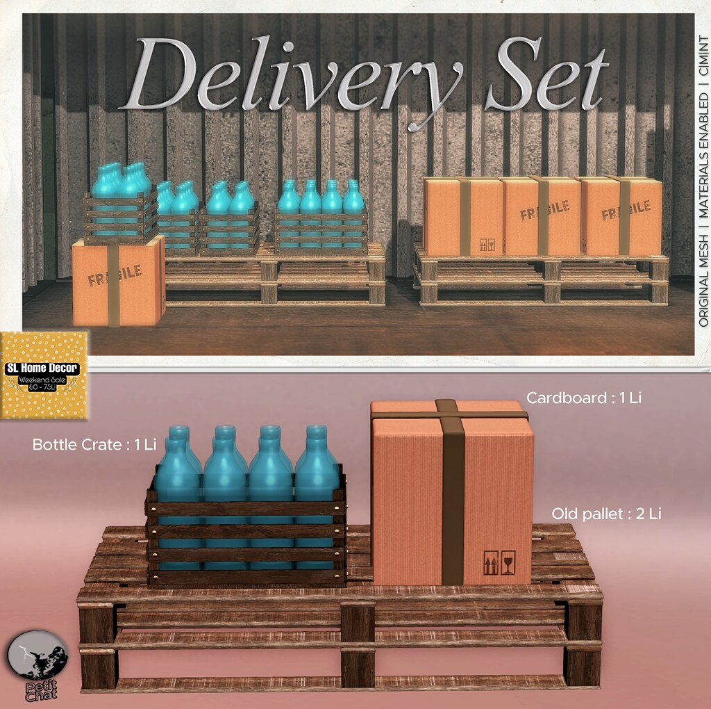 Petit Chat : Delivery Set @ SL Home & Decor weekly Sale