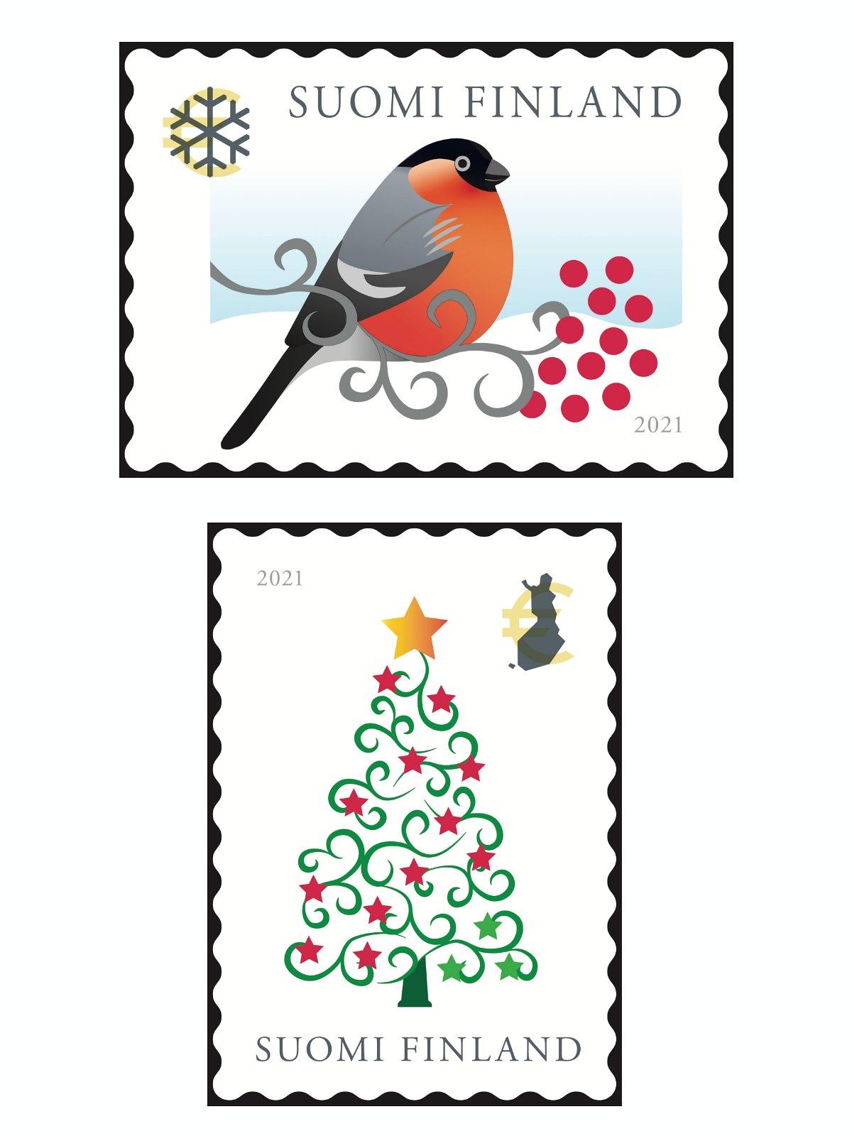 joulupostimerkit_2021