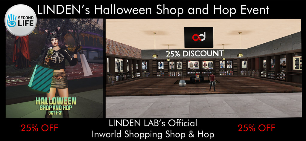! A&D Clothing – Halloween Shop and Hop Event