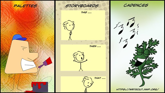 WriteOut: Palettes Storyboards Cadences