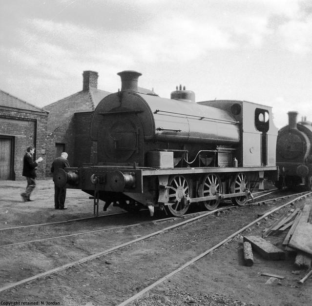 CAIMF255- P.1567-1920, (rebuilt 1941), 'Ackton Hall No.3', at Ackton Hall Colliery, Featherstone-04-05-1963