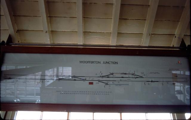 Woofferton Junction diagram