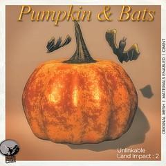 New release : Pumpkin & Bats @ Monster Party - i ♥ the Cart Sale event