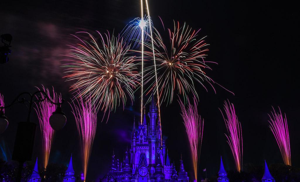 Disney Enchantment pink streaks MK