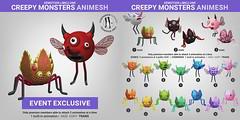 SEmotion Libellune Creepy Monsters Animesh