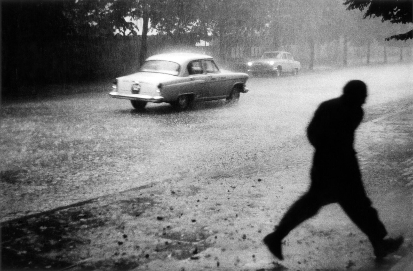 23. 1959. Вильнюс. Ливень,