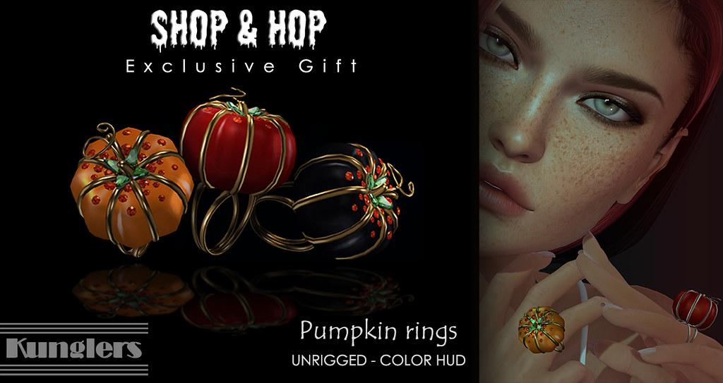 KUNGLERS Peyton ring vendor – Halloween edition