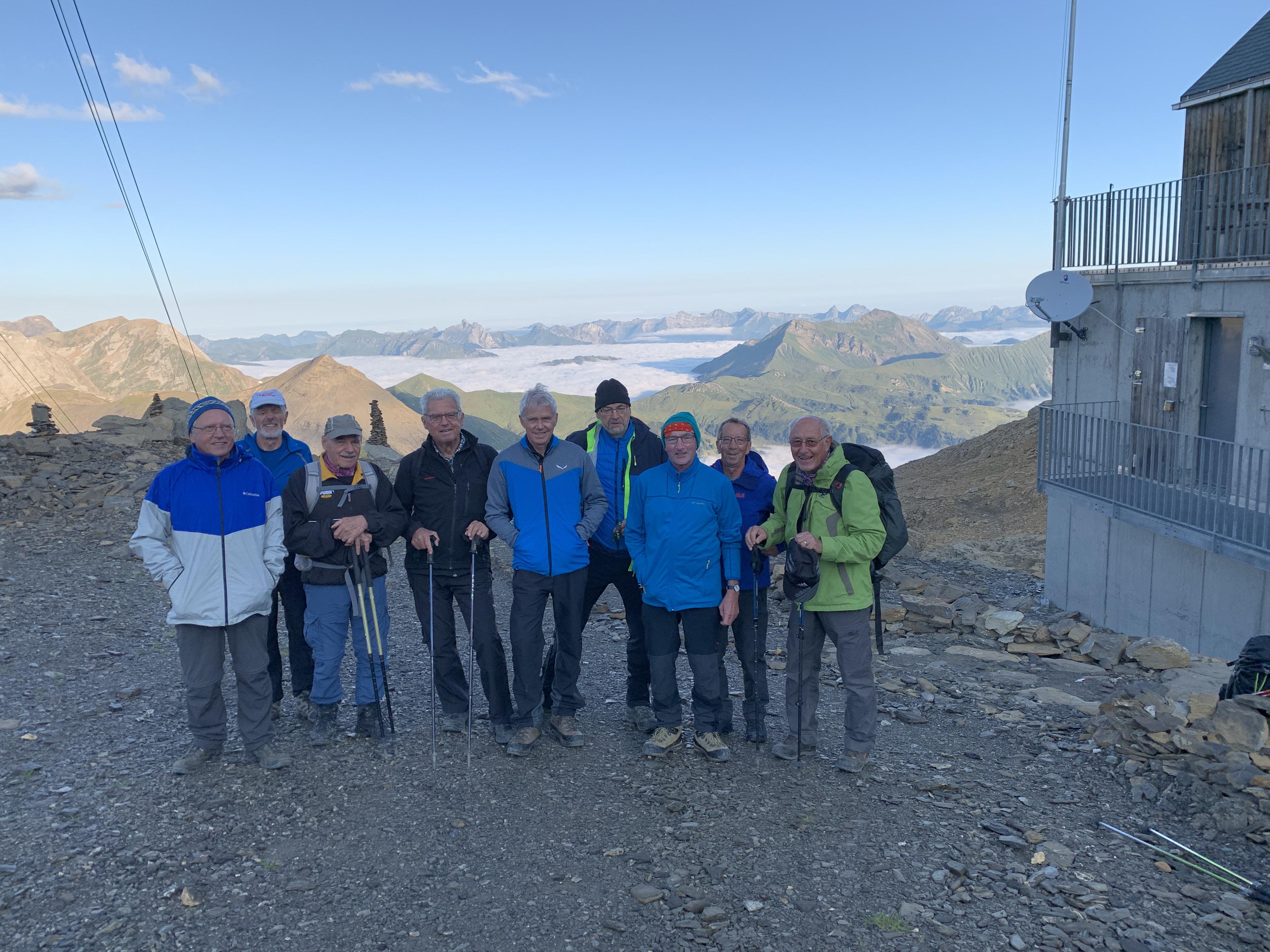 2021-08-25 Röstigraben 23. Etappe Wildstrubelhütte - Montana