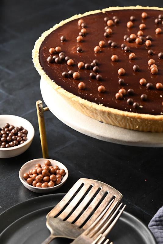 Chocolate Cloud pie/tart
