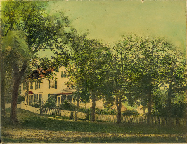 Colored Photo of General's Residence c.1890 - enhanced