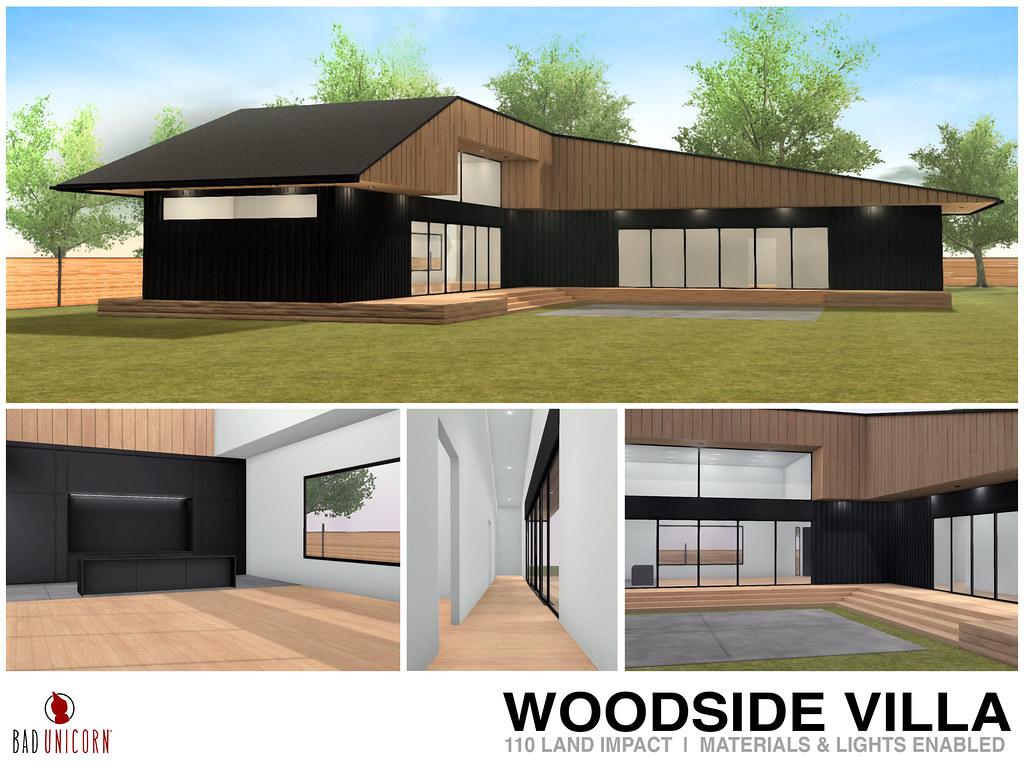 NEW! Woodside Villa @ FaMESHed