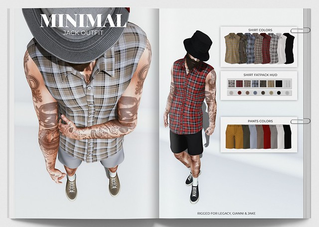 MINIMAL - Jack Outfit