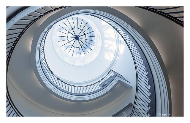 Berlin stairwell 1st variant