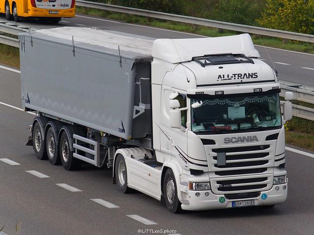Scania R490 Streamline Highline All-Trans (H)