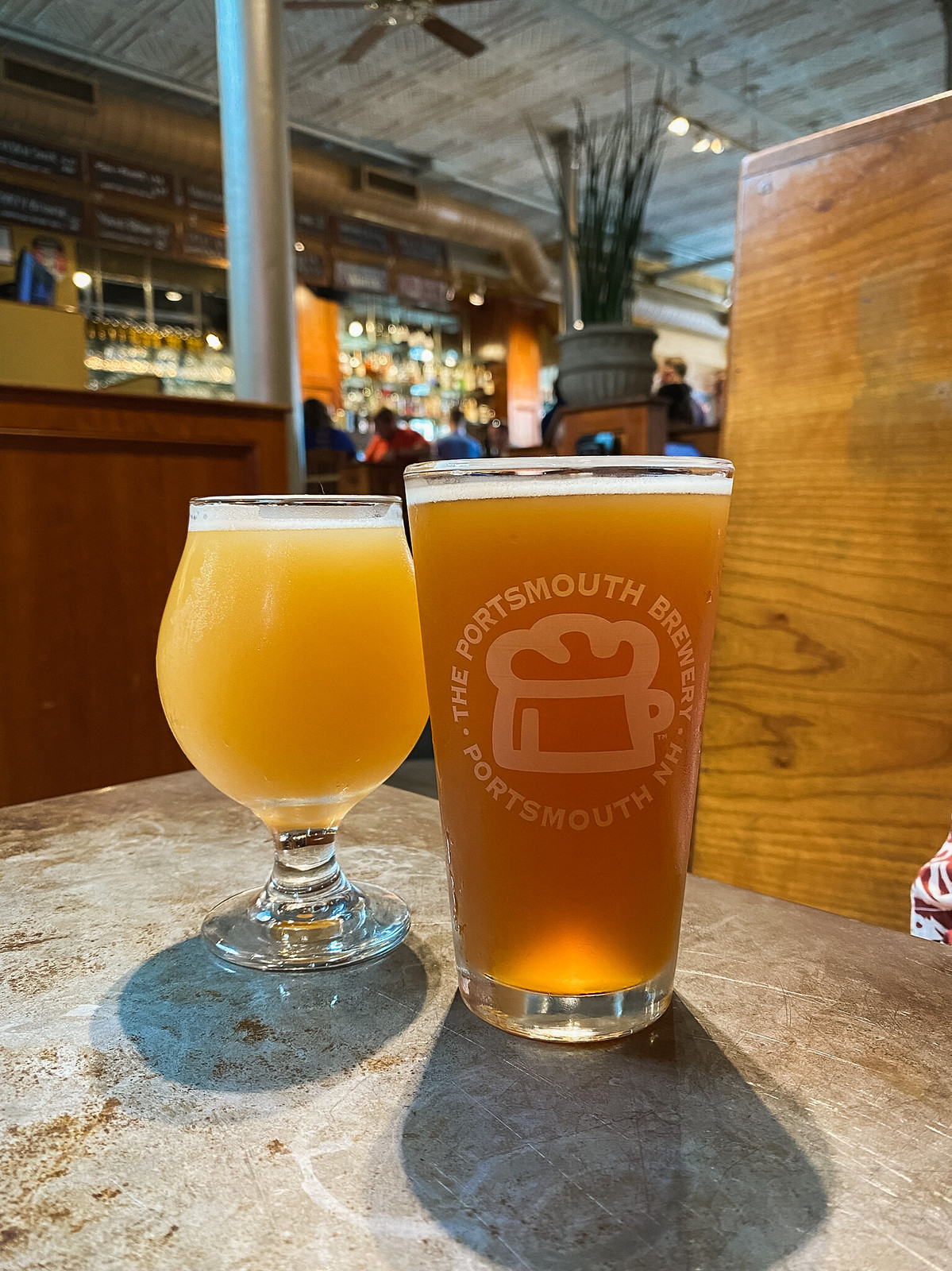 Portsmouth Brewery | Best Portsmouth Restaurants | Where to eat in Portsmouth, NH | Portsmouth New Hampshire Travel Guide | Weekend in New England | Things to do in Portsmouth