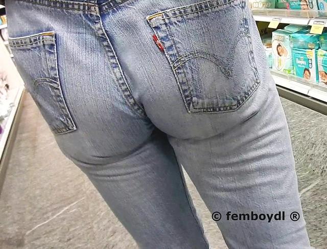 levis 501 jeans ass