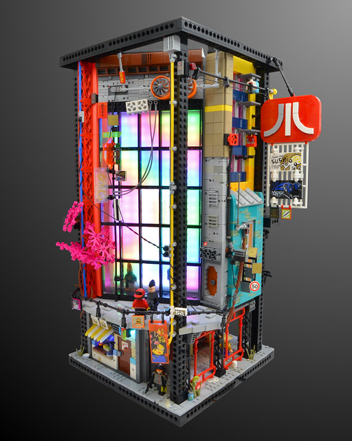 NEW HASHIMA(端島) - Sector 8 - Cube Stack AB.7