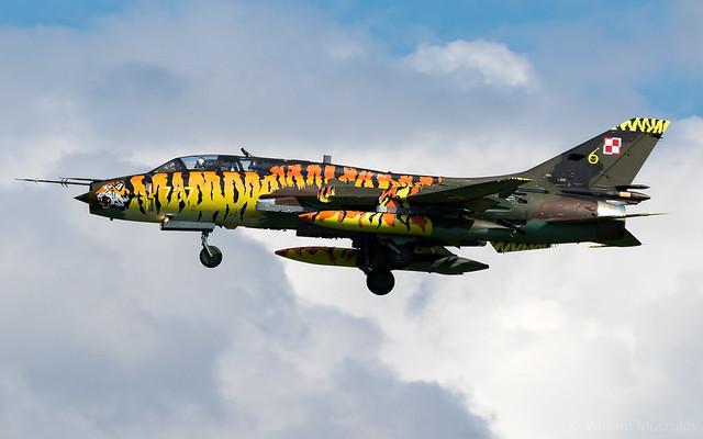 Sukhoi Su-22UM3K Fitter G 707 Polish Air Force - Tiger Meet Livery