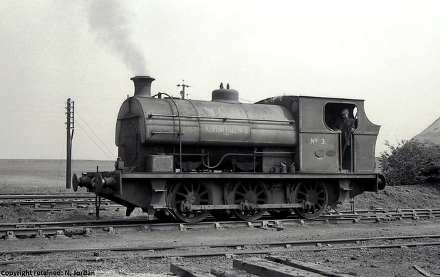 CAI270-P.1567-1920, (rebuilt 1941), 'Ackton Hall No.3', at Ackton Hall Colliery, Featherstone-15-06-1967