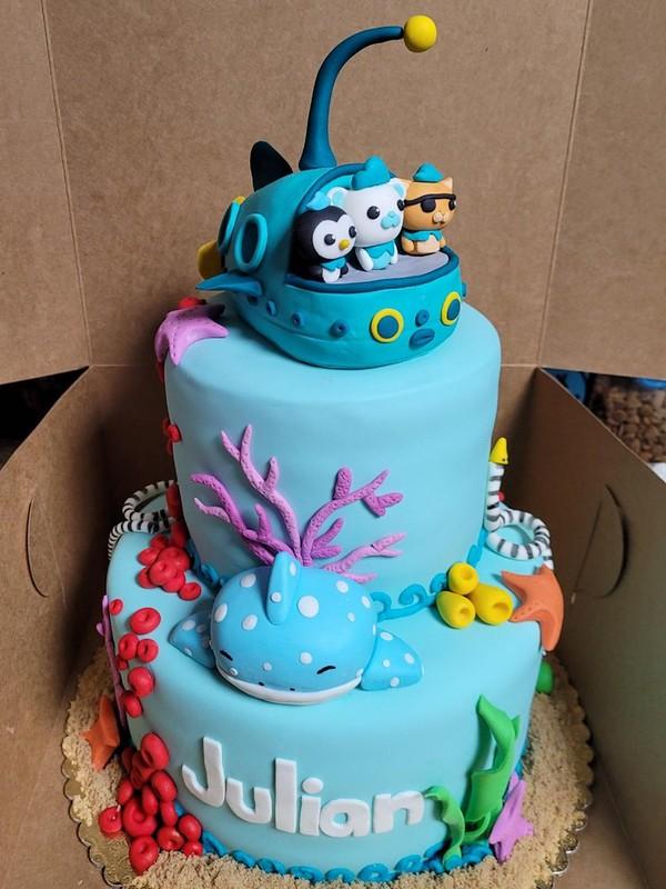 Octonauts Cake by Happy Baking