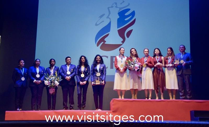 Las rusas ganan el mundial de ajedrez en Sitges 2021