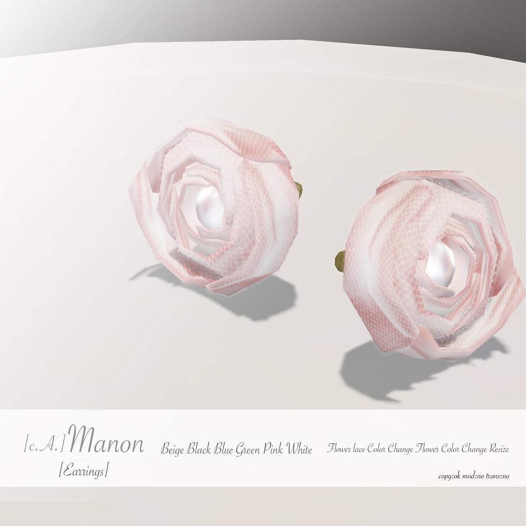 [c.A.] Manon *GIFT* [Earrings]