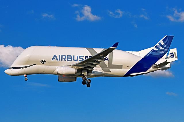 Airbus Transport International Airbus A330-743L Beluga XL F-GXLI TLS 22-09-21
